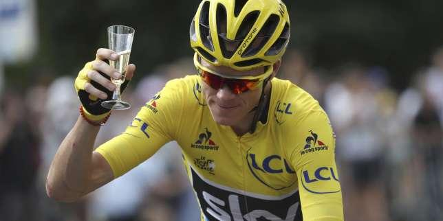 Le Britannique Christopher Froome a obtenu dimanche son troisième sacre sur le Tour de France, au terme d'une dernière étape remportée par l'Allemand André Greipel.