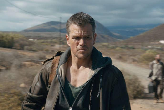 Matt Damon dans le film américain de Paul Greengrass, «Jason Bourne».