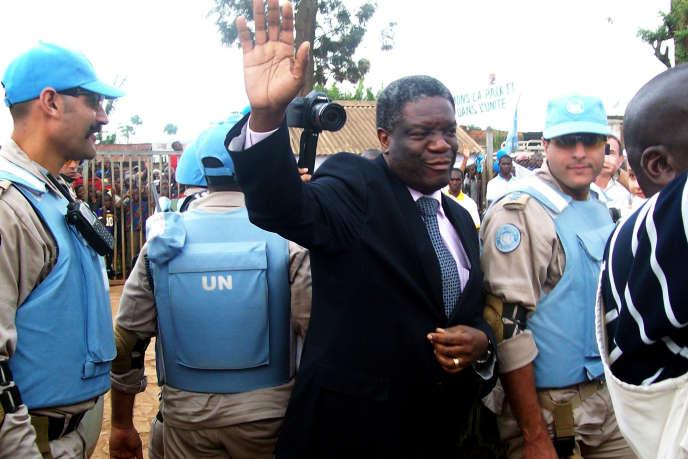 Le docteur Denis Mukwege, à l'Est de la République démocratique du Congo.