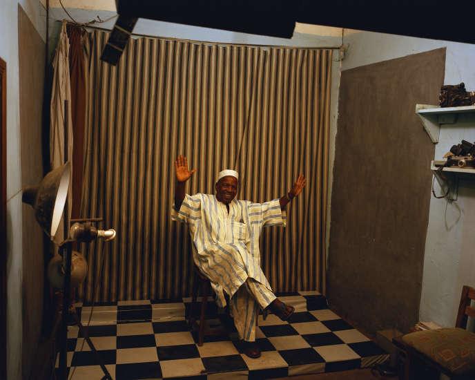 Malick Sidibé, à Bamako, en 2009.
