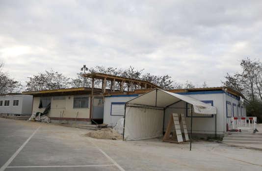 La mosquée de Lagny-sur-Marne, en Seine-et-Marne, fermée après les attentats de novembre 2015.