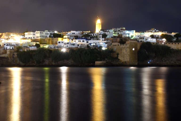 Vue de la casbah des Oudayas, à Rabat.