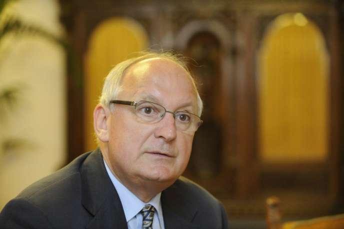 L'ancien président de la Cour suprême,Andras Baka (photo non datée).