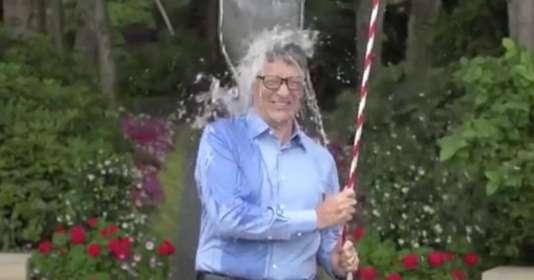 Le fondateur de Microsoft, Bill Gates, a participé au Ice Bucket Challenge en 2014.
