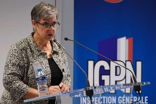 Marie-France Moneger-Guyomarc'h, directrice de l'Inspection générale de la police nationale (IGPN), le 27 juillet 2016.