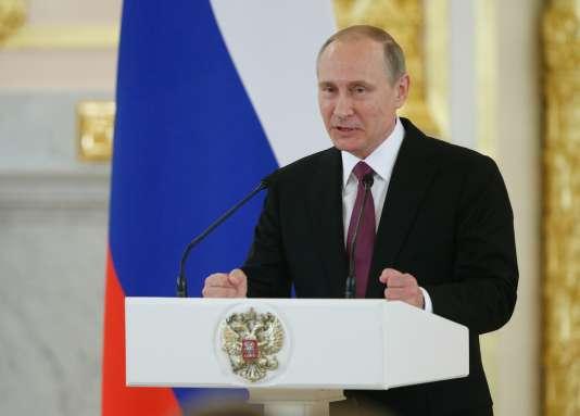 Vladimir Poutine, le 27 juillet.