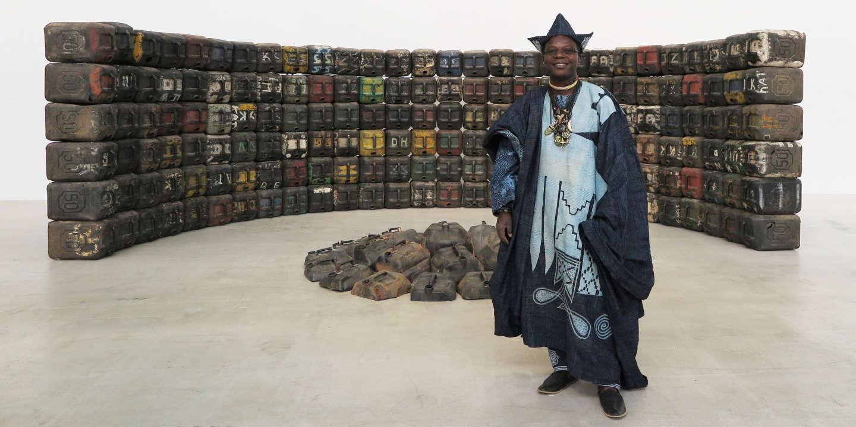 Tenture Africaine Grande Taille la loi du marché de l'art africain