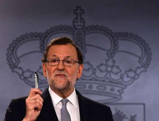 Mariano Rajoy, le 28 juillet, à Madrid.