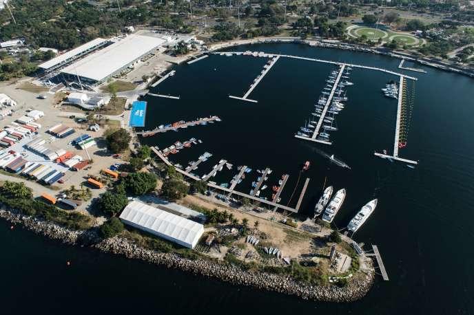 Une rampe de mise à l'eau des bateaux s'est effondrée à Marina da Gloria.