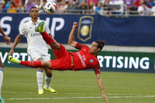 Edinson Cavani sera absent pour le premier match officiel de la saison.
