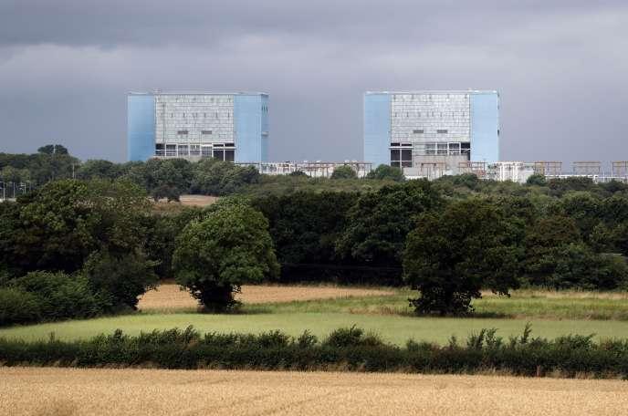La centrale nucléaire d'Hinkley Poin, dans le comté du Somerset, en Angleterre, jeudi 28 juillet.