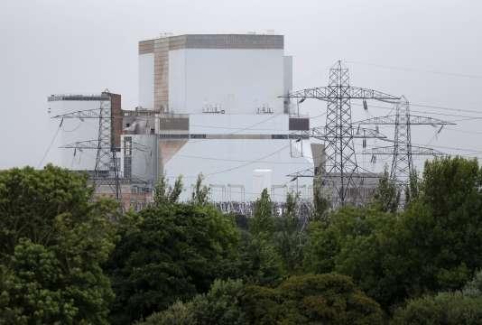 La station nucléaire de Hinkley Point, à Somerset, en Angleterre, le 28 juillet 2016.