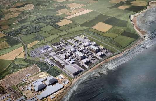 Le chantier de Hinkley Point, dans le sud-ouest de l'Angleterre.
