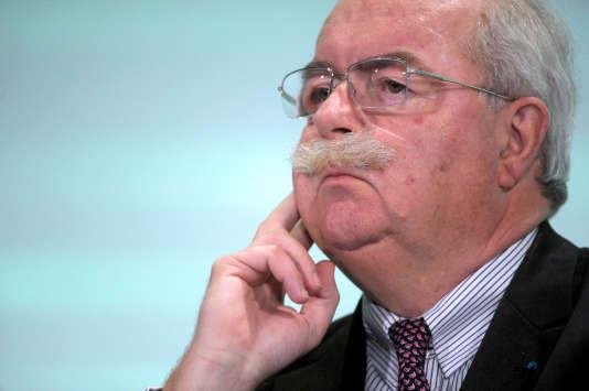 Christophe de Margerie, PDG du groupe pétrolier Total, en juin 2014.