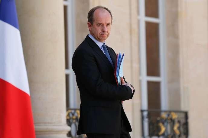 Le ministre de la justice Jean-Jacques Urvoas devant l'Elysée le 16 juillet.