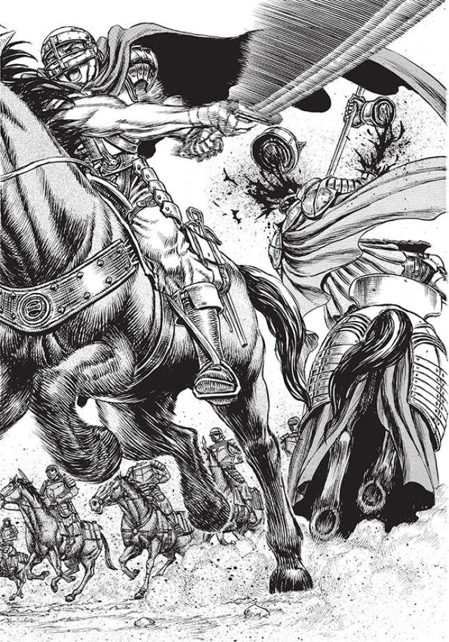 La violence fait partie intégrante de l'oeuvre de Kentaro Miura.