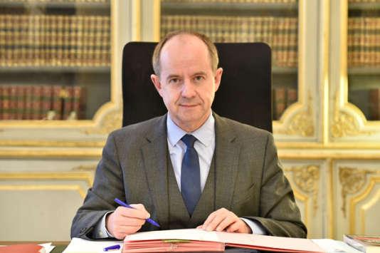 Jean-Jacques Urvoas, ministre de la justice de janvier 2016 à mai 2017