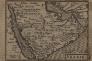Carte de l'Arabie, par le cartographe Jocodus Hondius, (publiée en 1598 et rééditée en 1616)