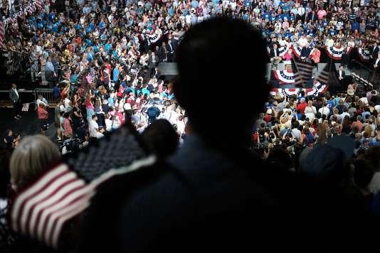 Convention du Parti démocrate à Philadelphie, le 29 juillet.