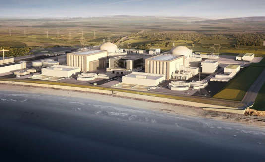 Hinkley Point, le 28 juillet.