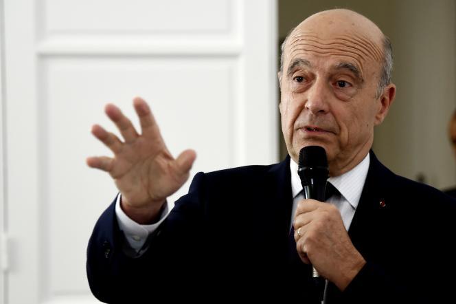 Alain Juppé à Paris, le 29 juillet.