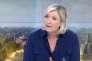 Marine Le Pen, invitée du « 20 heures»de France 2, vendredi 29 juillet.