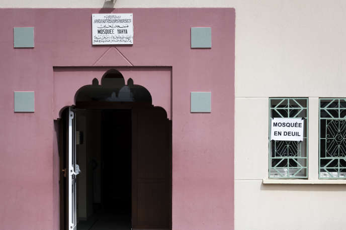 La mosquée de Saint-Etienne-du-Rouvray.