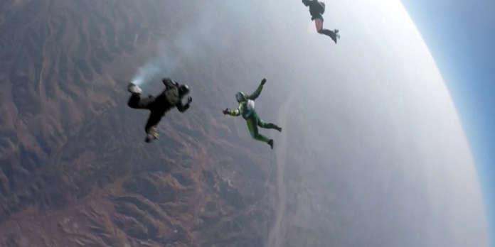 chute libre 7000 metres