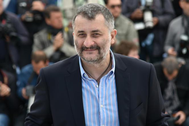 Le réalisateur roumain Cristi Puiu au 69e Festival de Cannes pour la projection de son film « Sieranevada», le 12 mai 2016.
