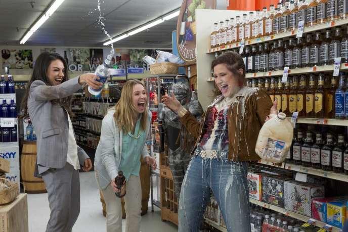 Mila Kunis, Kristen Bell et Kathryn Hahn dans le film américain de Jon Lucas et Scott Moore, « Bad Moms».