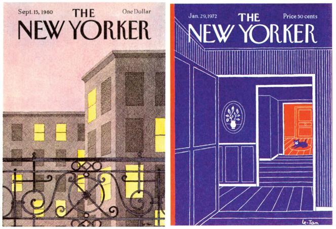 Le dessinateur adepte de l'encre de Chine a commencé à 17 ans, en illustrant des couvertures du « New Yorker».