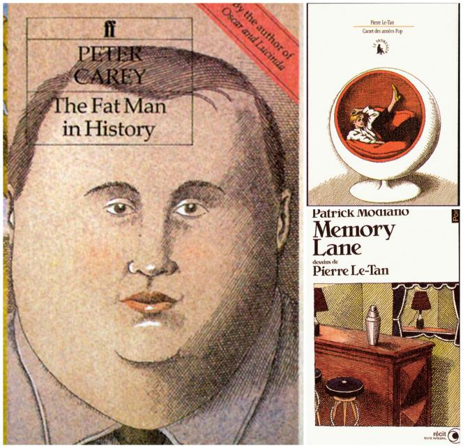 Pierre Le-Tan a illustré les couvertures de plus de cent livres.