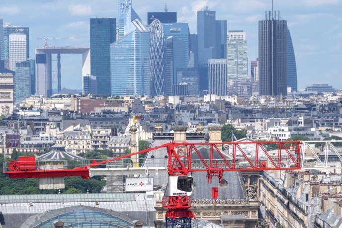Le taux de vacance à la Défense (Hauts-de-Seine) est tombé à 8,8% à fin juin, au plus bas depuis 2012.