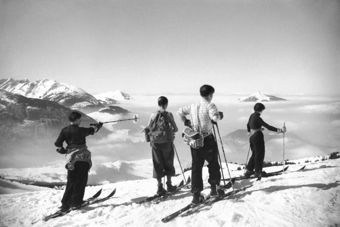 « En haut des cimes, Les Carroz », Haute-Savoie