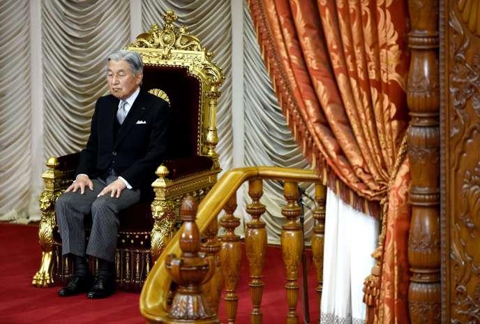 L'empereur Akihito du Japon, le 1eraoût.