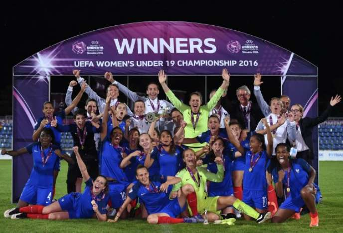Football l quipe de france f minine championne d europe - Resultat coupe d europe de foot ...