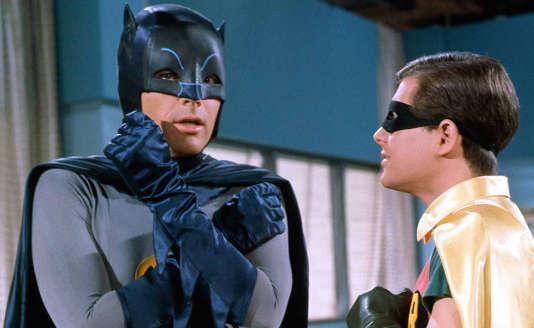 Adam West et Burt Ward dans« Batman» de Leslie H. Martinson (1966)