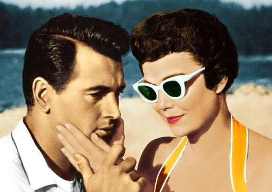 Rock Hudson et Jane Wyman dans« Le Secret magnifique», de Douglas Sirk (1954).