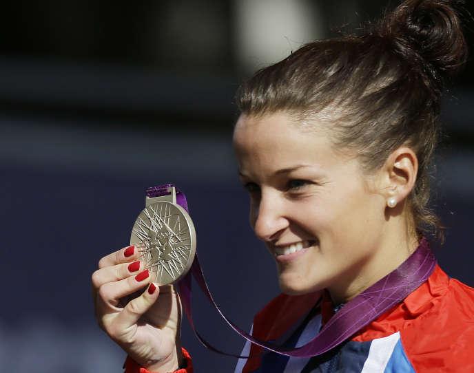 Elizabeth Armitstead avait offert sa première médaille (d'argent) à la Grande-Bretagne aux JO de Londres