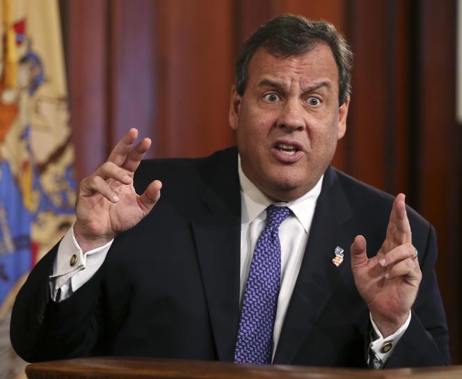 Le gouverneur du New Jersey, Chris Christie, en août.