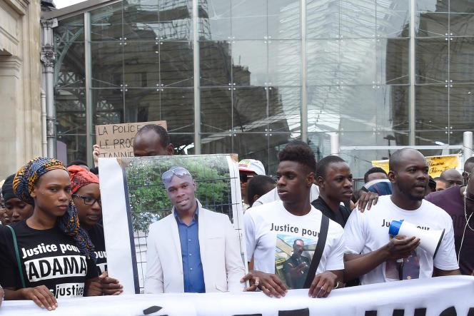 Plusieurs manifestations avaient été organisées à la suite de la mort d'Adama Traoré,décédé lors de son interpellation par des gendarmes en juillet à Beaumont-sur-Oise (Val d'Oise).