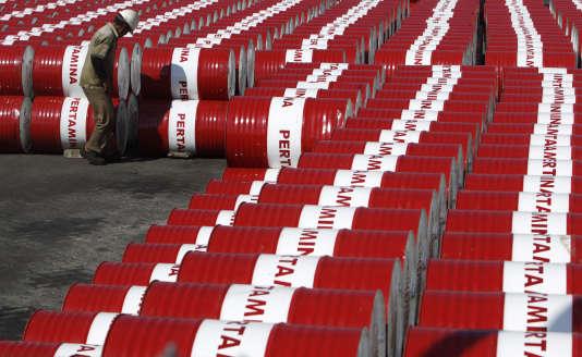 Un dépôt de stockage de Pertamina, la compagnie pétrolière publique indonésienne, à Djakarta en 2010.