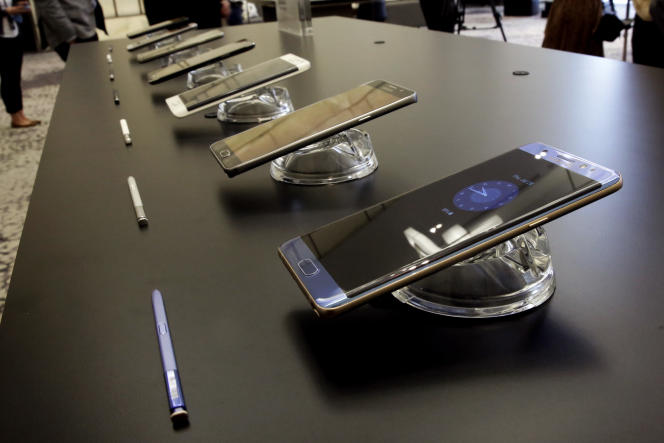 Des photos de présentation du Galaxy Note 7.