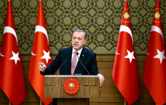 Recep Tayyip Erdogan, à Ankara,le 2août.