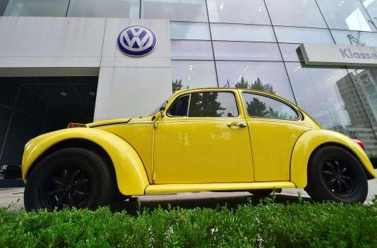 Une concession Volkswagen à Séoul, le 2 août.