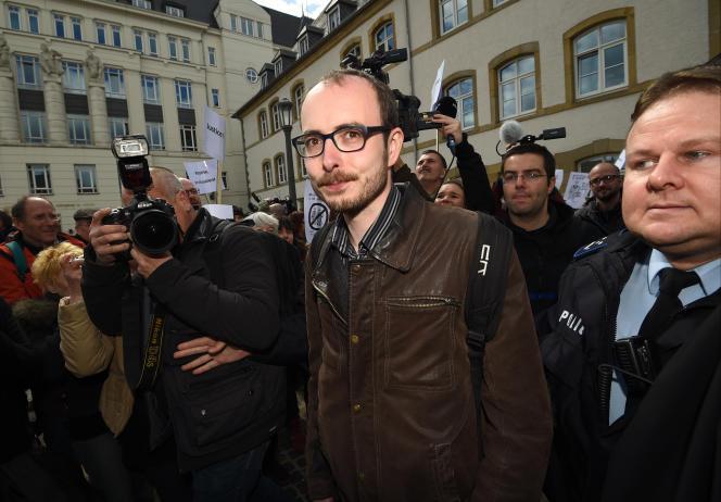 Antoine Deltour, lanceur d'alerte dans le scandale LuxLeaks, avait été condamné à du sursis en juin.