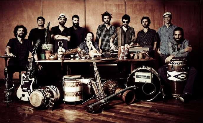 Le groupe brésilien Bixiga 70.