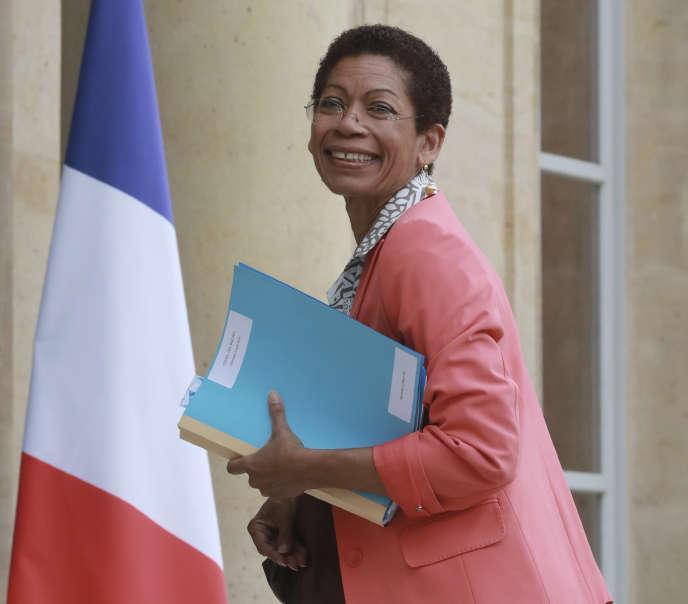 La ministre des outre-mer George Pau-Langevin a démissionné mardi 30 août du gouvernement de Manuel Valls.