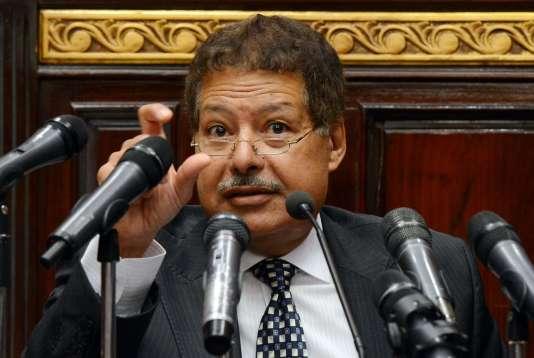Ahmed Zewail, en 2012.