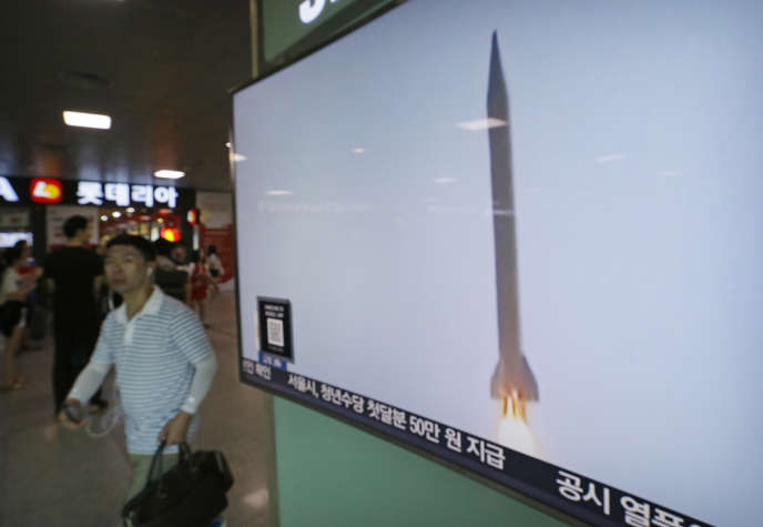 Le tir balistique nord-coréen a atteint pour la première fois la zone économique exclusive au large du Japon.